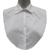 Cotton Shirt Dickey in Black or White