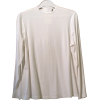 Adjustable Cream Rayon Knit M-Shirt Shell